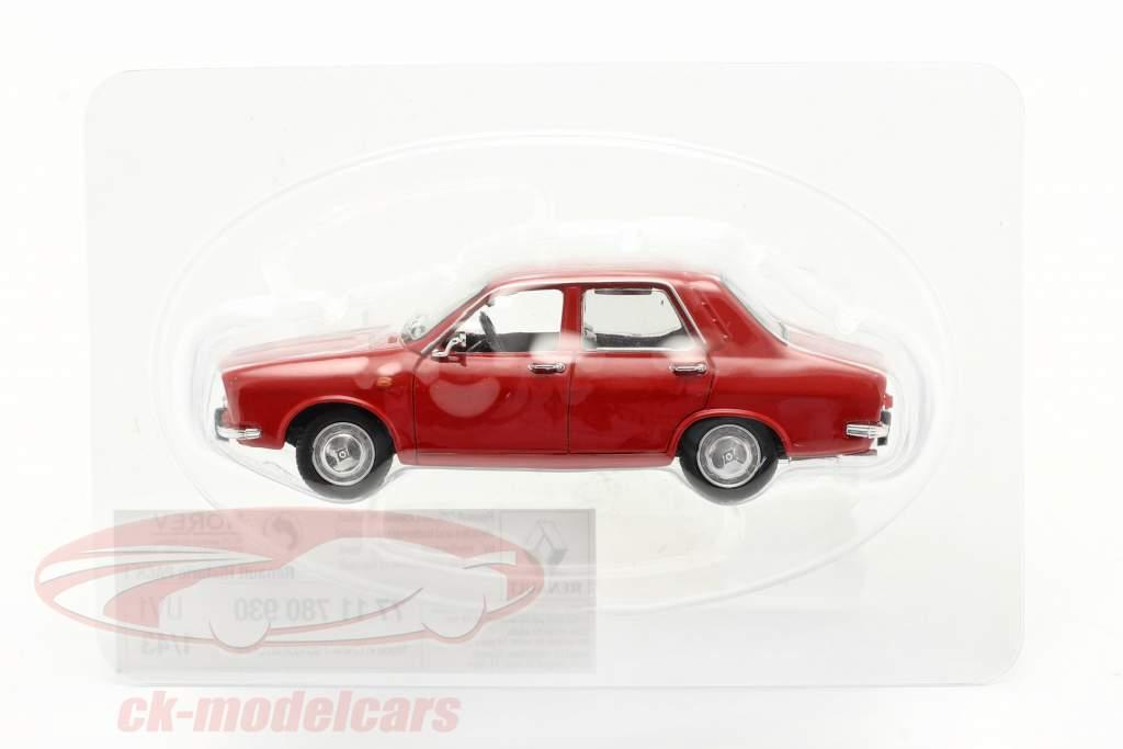 Renault 12 (R12) Ano de construção 1969 vermelho 1:43 Norev