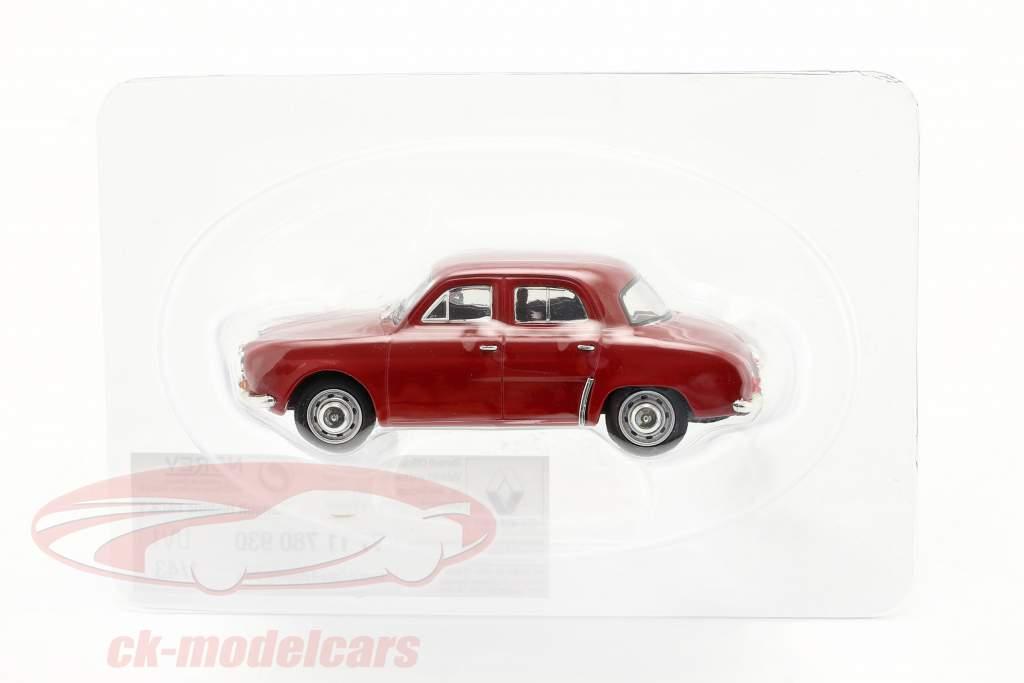 Renault Dauphine Anno di costruzione 1956-1968 rosso scuro 1:43 Norev