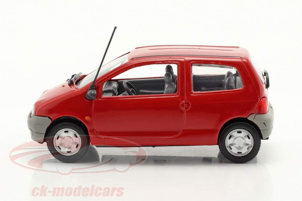 Renault Twingo Ano de construção 1993 vermelho 1:43 Norev