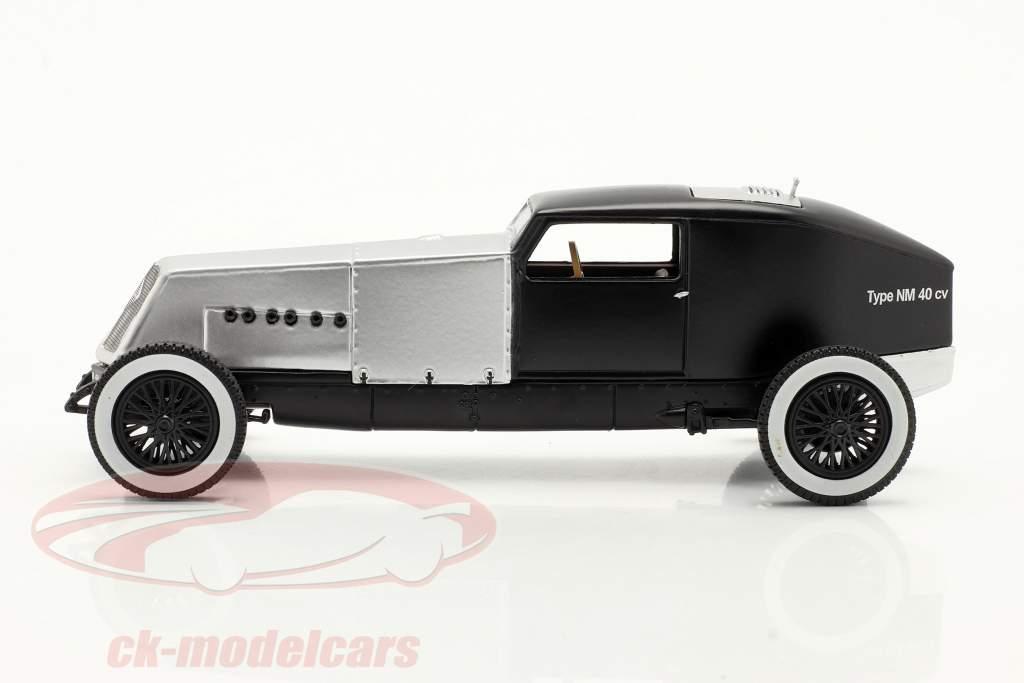 Renault Type NM 40 CV Baujahr 1925-1928 silber / schwarz 1:43 Norev