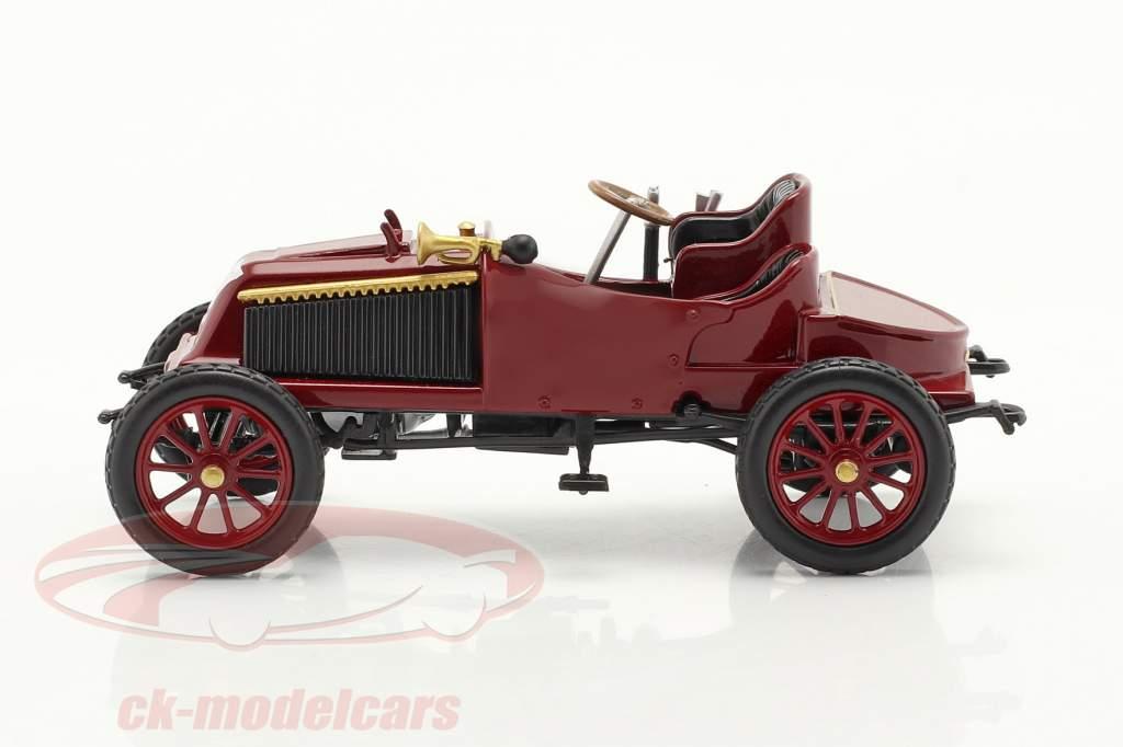 Renault Type K Año de construcción 1902 oscuro rojo 1:43 Norev