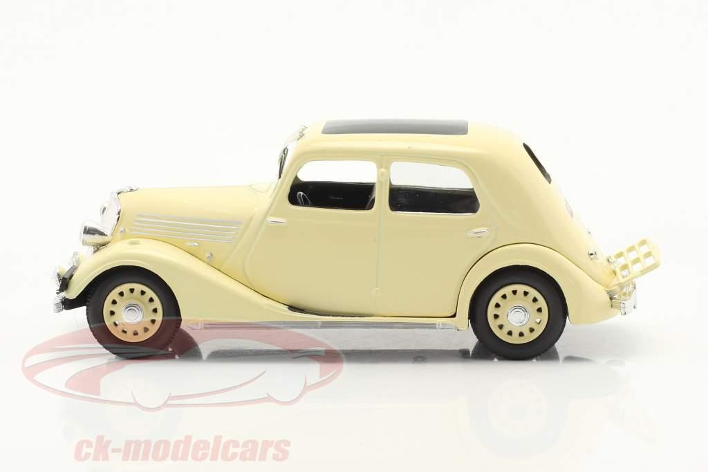 Renault Celtaquatre Año de construcción 1934-1938 crema blanco 1:43 Norev