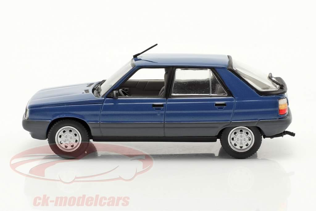 Renault 11 (R11) Ano de construção 1981 azul escuro / Preto 1:43 Norev
