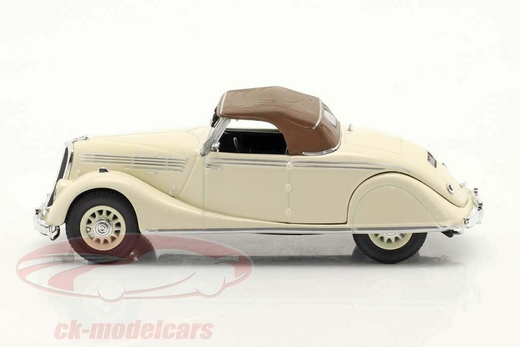 Renault Viva Grand Sport Baujahr 1935-1939 creme weiß / braun 1:43 Norev