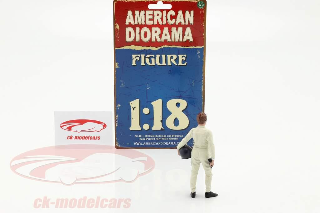 Race Day serie 2  figuur #1  1:18 American Diorama