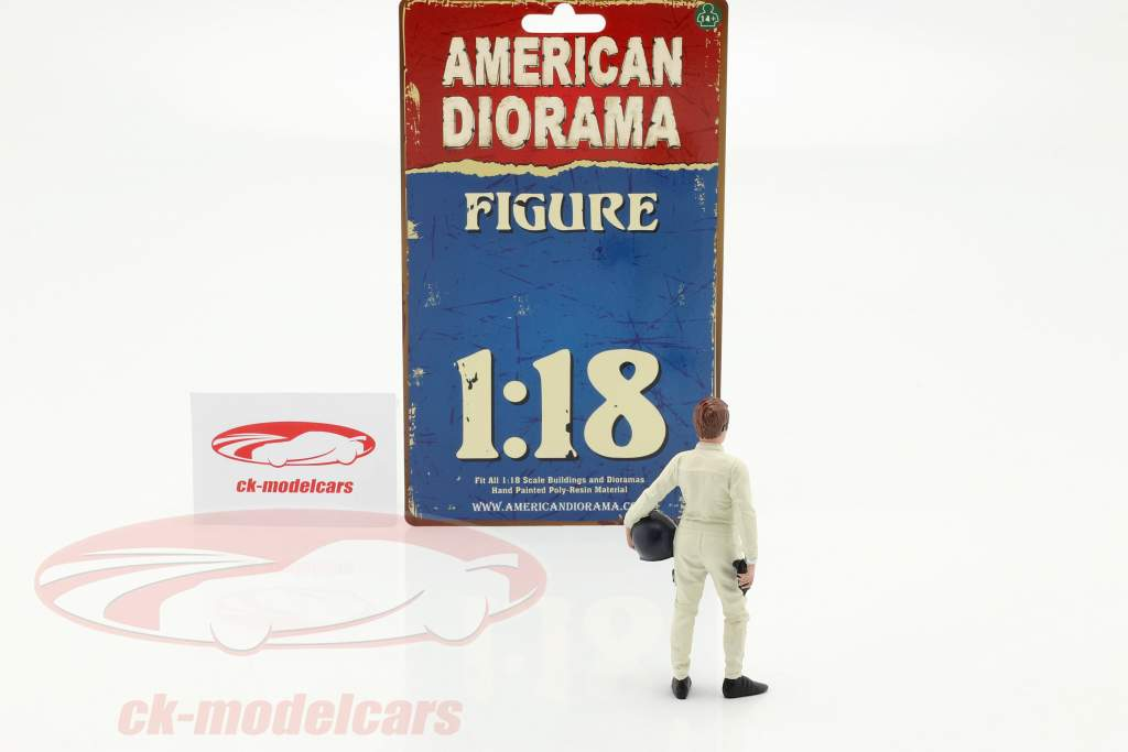 Race Day séries 2  chiffre #1  1:18 American Diorama