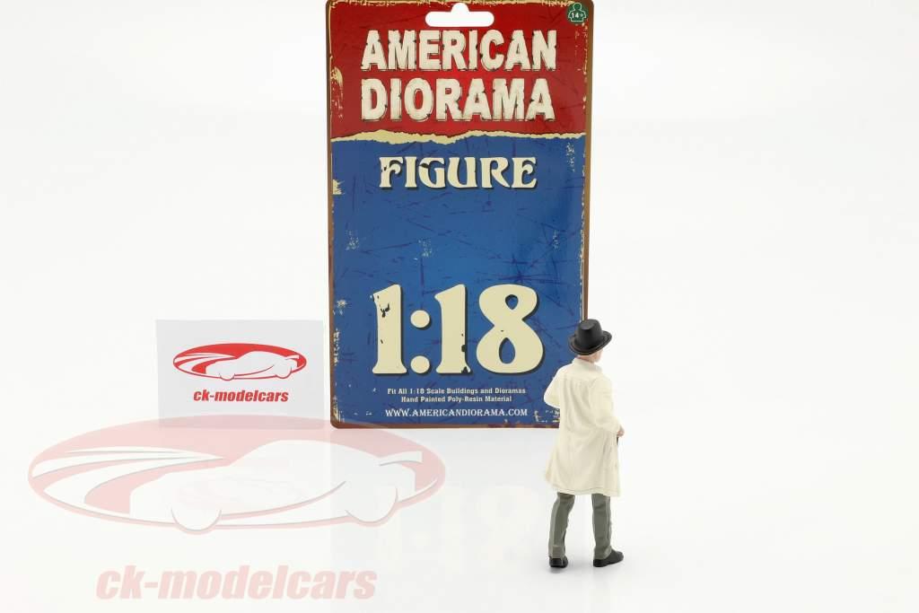 Race Day serie 2  figuur #2  1:18 American Diorama