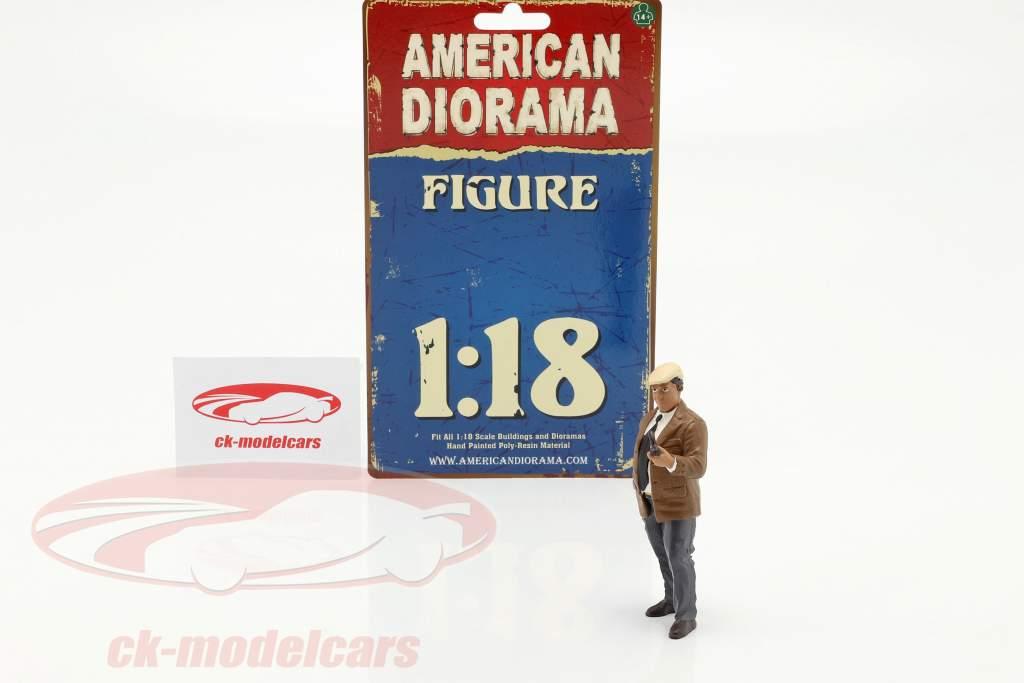 Race Day serie 2  figur #3  1:18 American Diorama