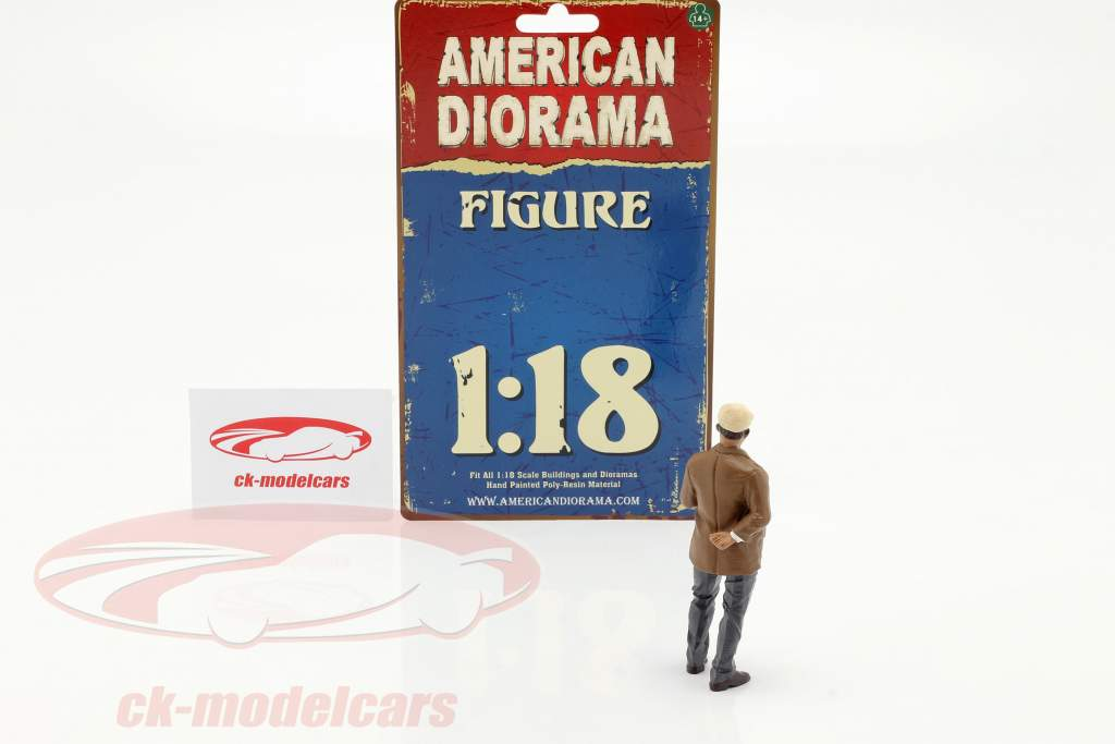 Race Day serie 2  figuur #3  1:18 American Diorama