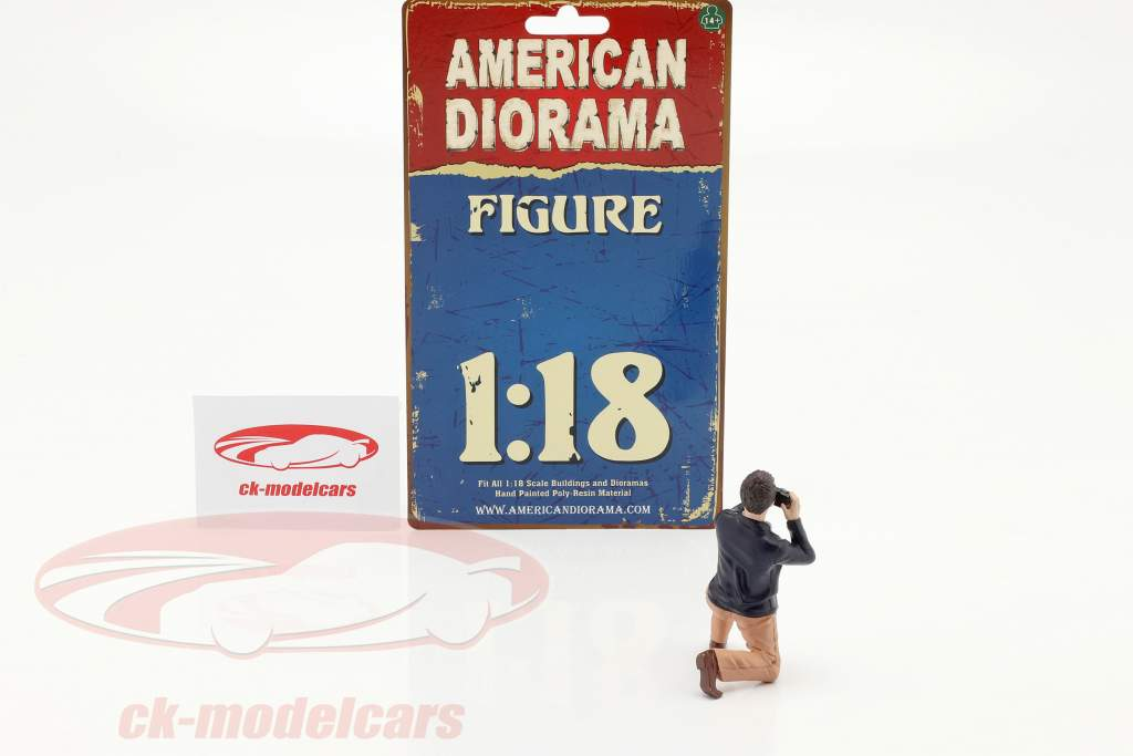 Race Day séries 2  chiffre #4  1:18 American Diorama