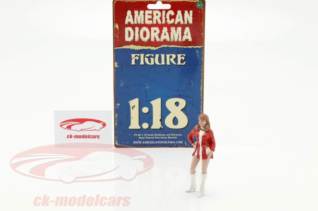 Race Day serie 2  figura #6  1:18 American Diorama