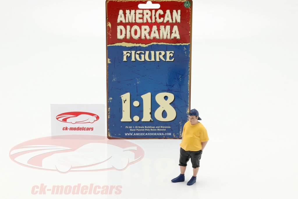 Car Meet Série 1 Figure #2 1:18 American Diorama