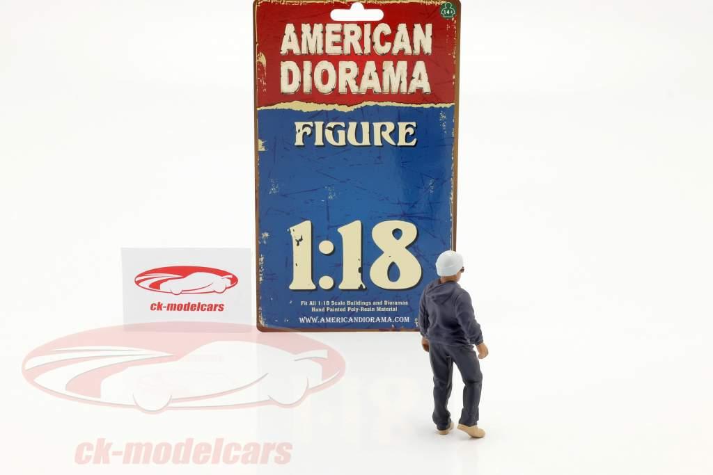 Car Meet Series 1  figure #4  1:18 American Diorama