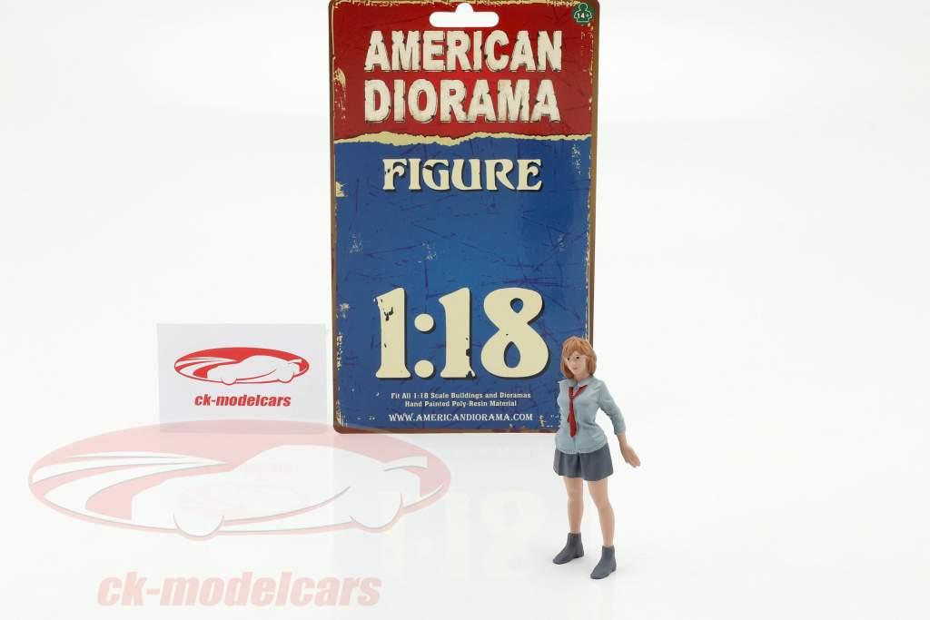 Car Meet Series 1 Figure #5 1:18 American Diorama
