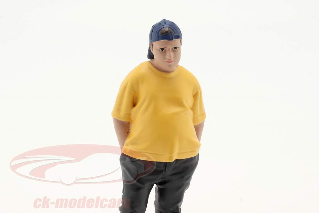 Car Meet Series 1 Figure #2 1:18 American Diorama