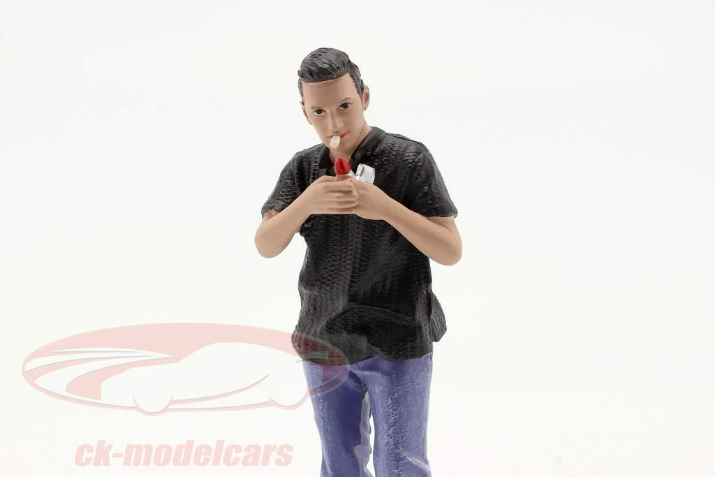 Car Meet Series 1  figure #6  1:18 American Diorama