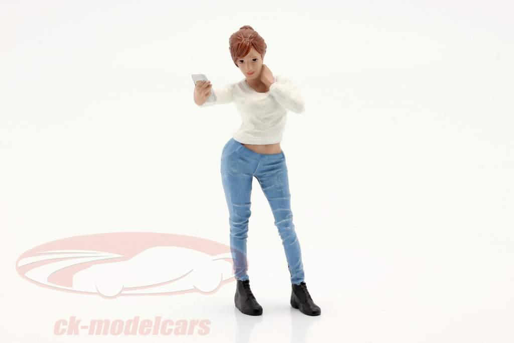 Car Meet Serie 1  Figur #1  1:18 American Diorama