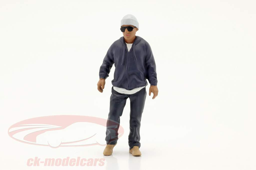 Car Meet Serie 1  Figur #4  1:18 American Diorama
