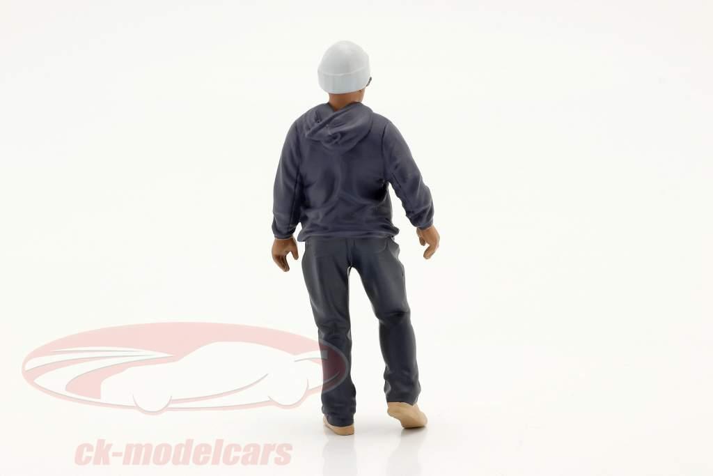 Car Meet séries 1  chiffre #4  1:18 American Diorama
