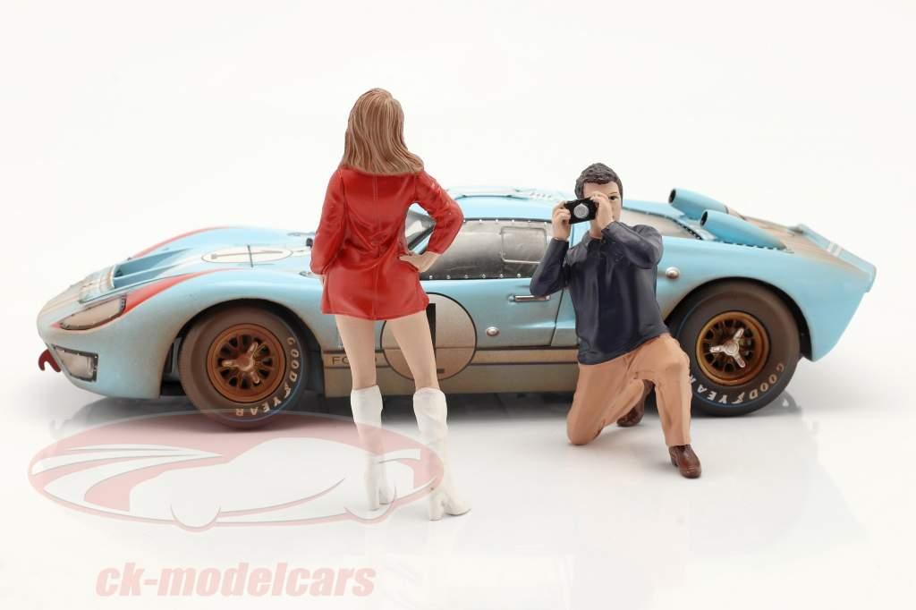 Race Day serie 2  figuur #6  1:18 American Diorama