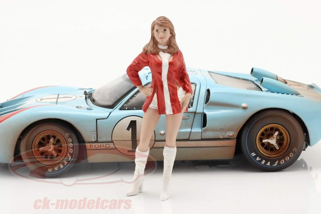 Race Day Series 2  figura #6  1:18 American Diorama