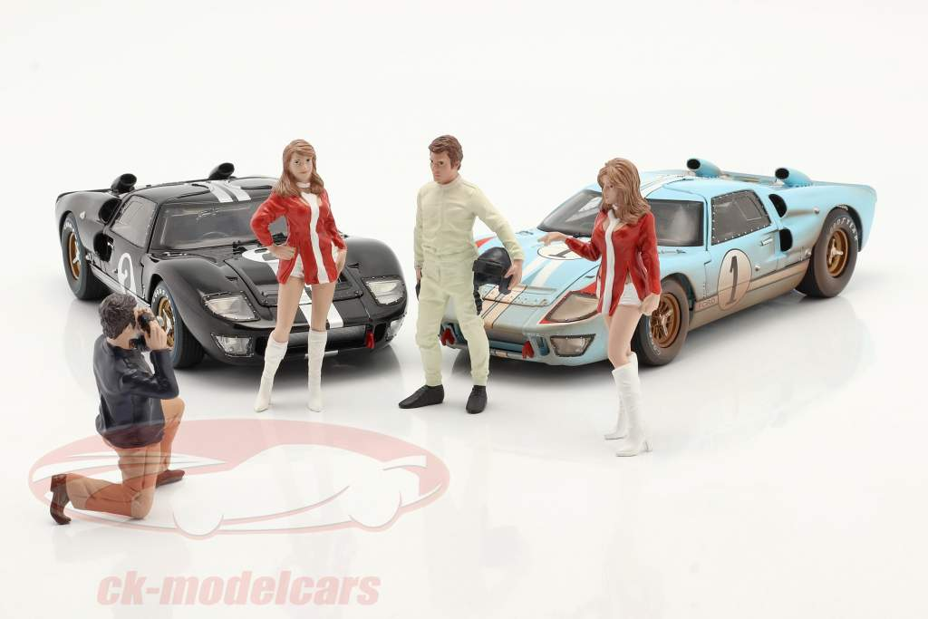 Race Day Serie 2  Figur #1  1:18 American Diorama