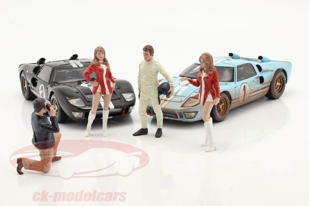Race Day serie 2  figura #1  1:18 American Diorama