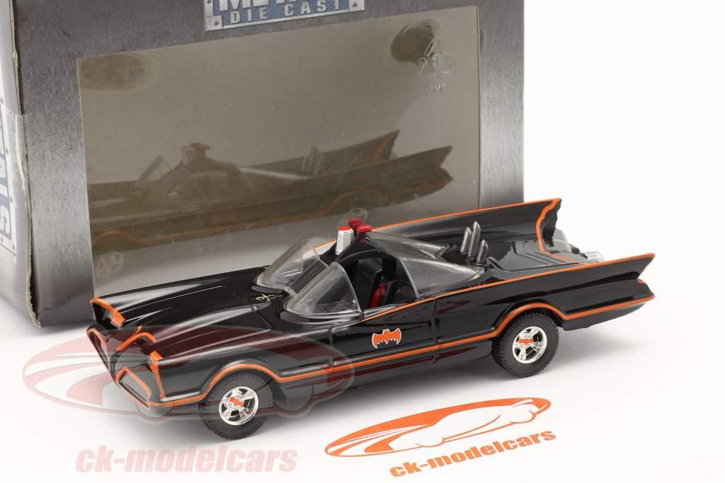 Batimóvil Batman TV Series 1966 negro 1:43 Jada Toys