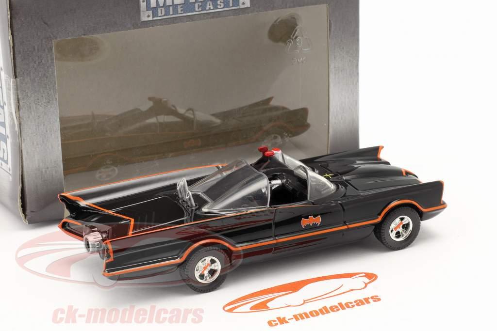Batmobile Batman TV Series 1966 le noir 1:43 Jada Toys