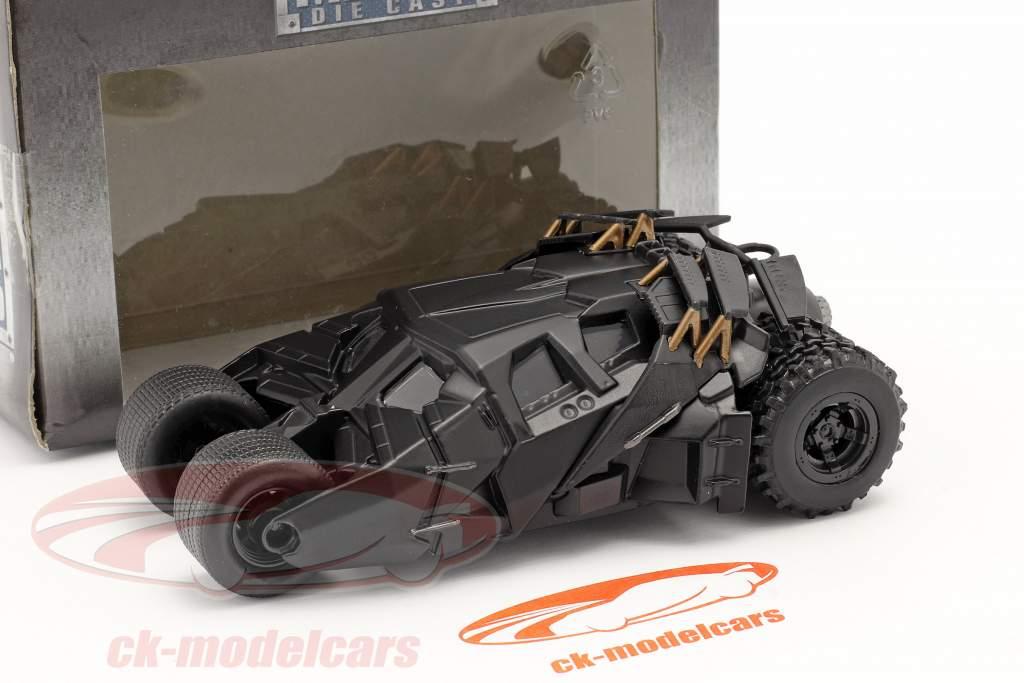 Tumbler バットモービル 映画 The Dark Knight (2008) 黒 1:43 Jada Toys