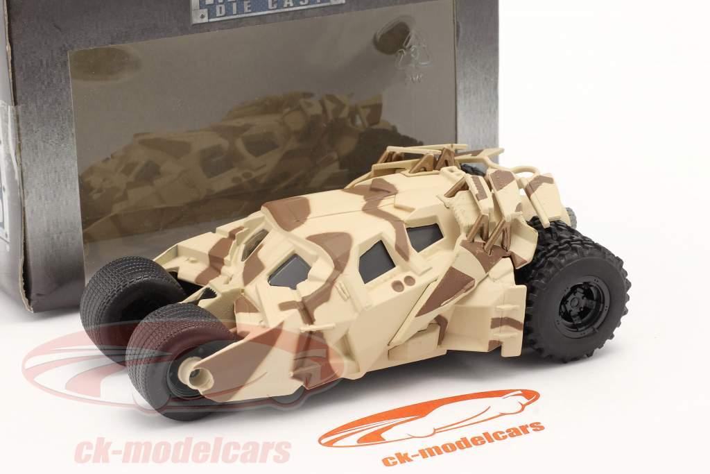 Tumbler Batmobil Movie The Dark Knight (2008) camouflage 1:43 Jada Toys