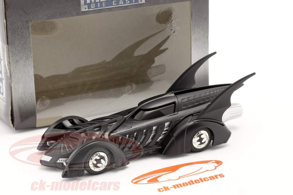 Batmobiel Film Batman Forever (1995) zwart 1:43 Jada Toys