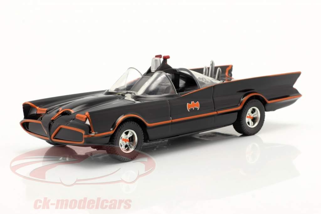 Batmóvel Batman TV Series 1966 Preto 1:43 Jada Toys