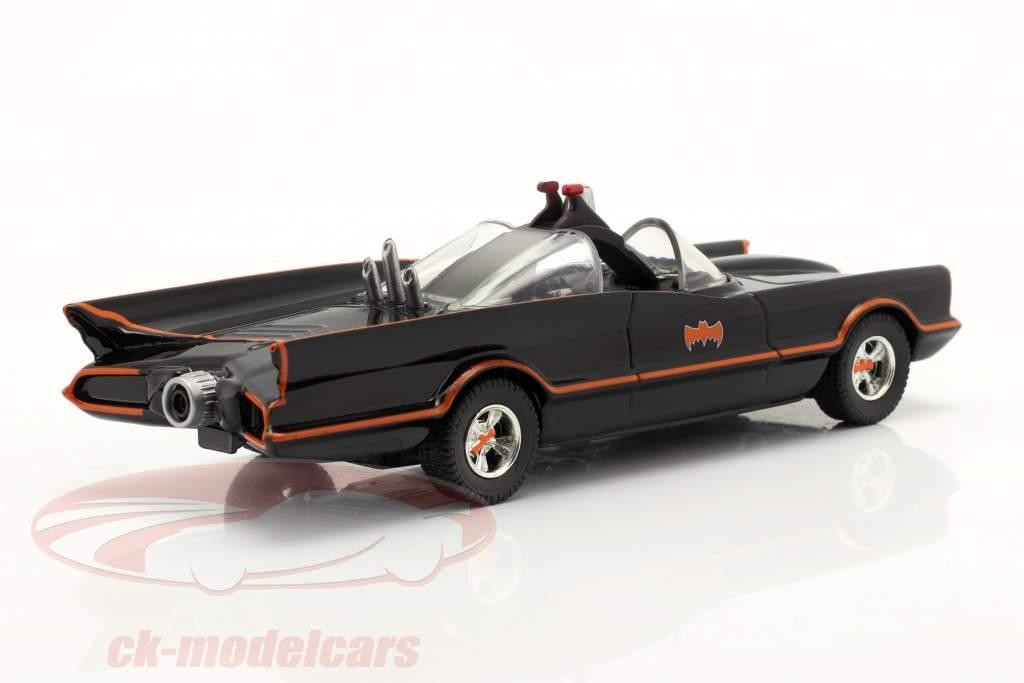 Batmobil Batman TV-Serie 1966 schwarz 1:43 Jada Toys