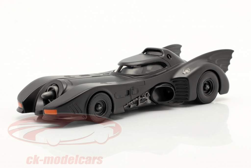 Batmóvel Filme Batman (1989) esteira Preto 1:43 Jada Toys