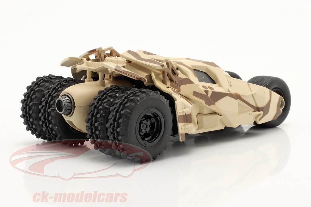 Tumbler Batmobil Filme The Dark Knight (2008) camuflar 1:43 Jada Toys
