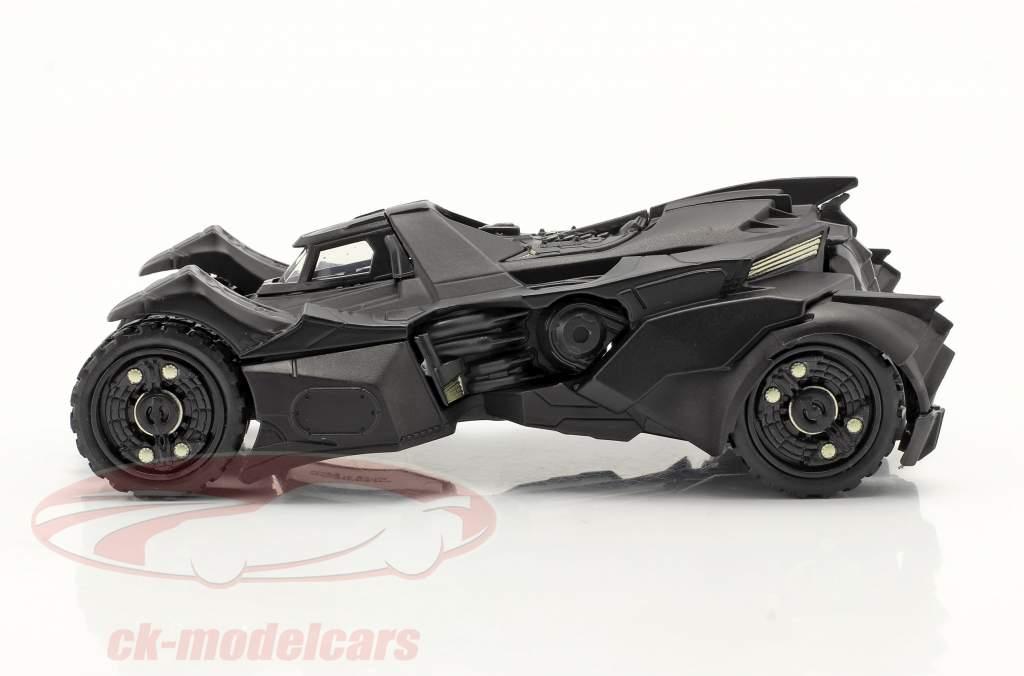 Batmobiel Batman Arkham Knight (2015) zwart 1:43 Jada Toys