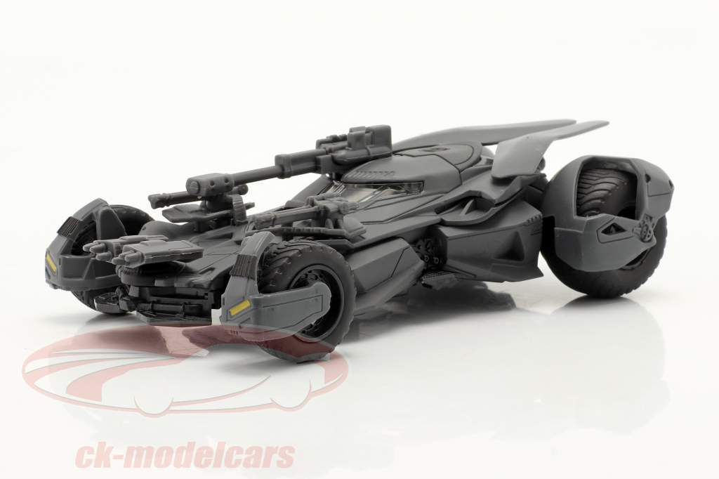 Batmobil Batman Filme Justice League (2017) esteira cinzento 1:43 Jada Toys