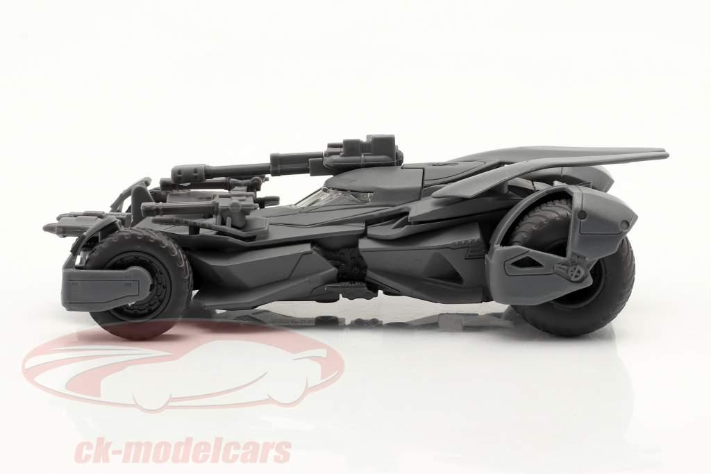 Batmobil Batman Película Justice League (2017) estera gris 1:43 Jada Toys