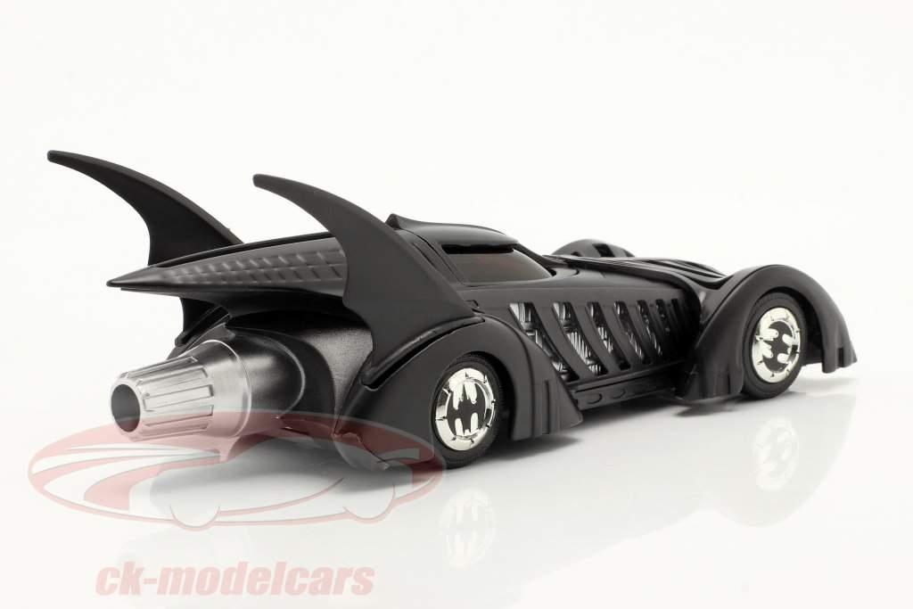 Batmobil Film Batman Forever (1995) schwarz 1:43 Jada Toys