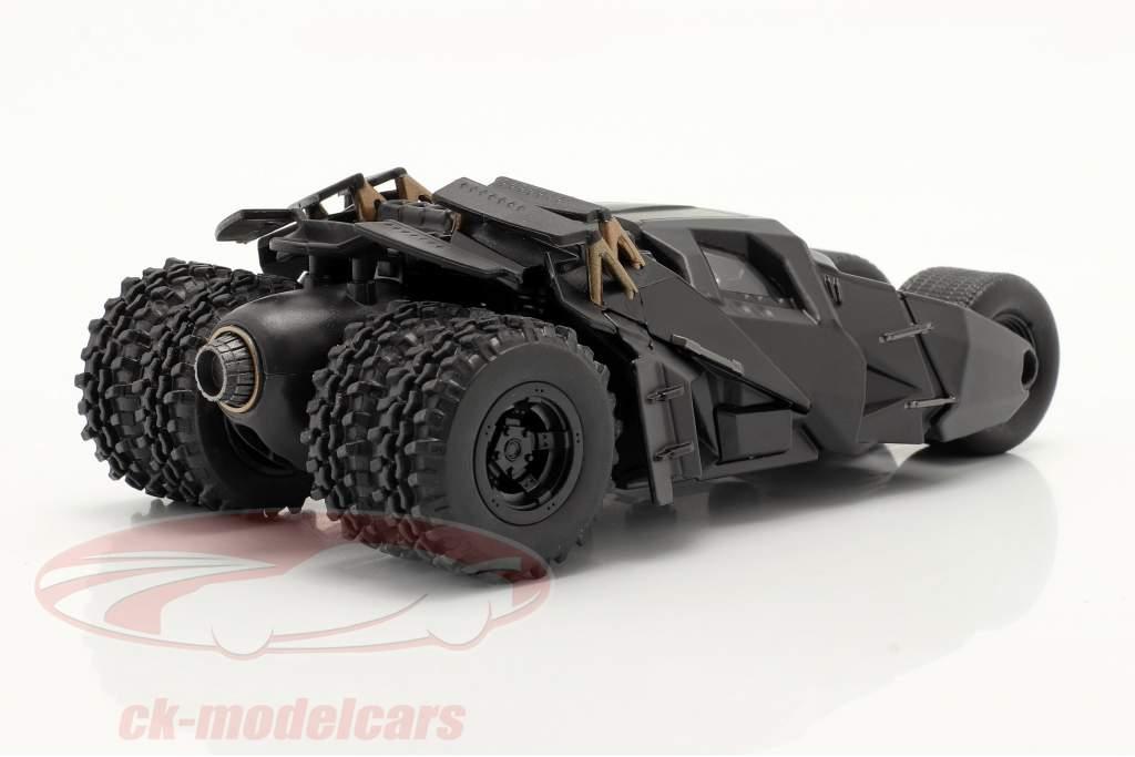 Tumbler Batmobil Film The Dark Knight (2008) schwarz 1:43 Jada Toys