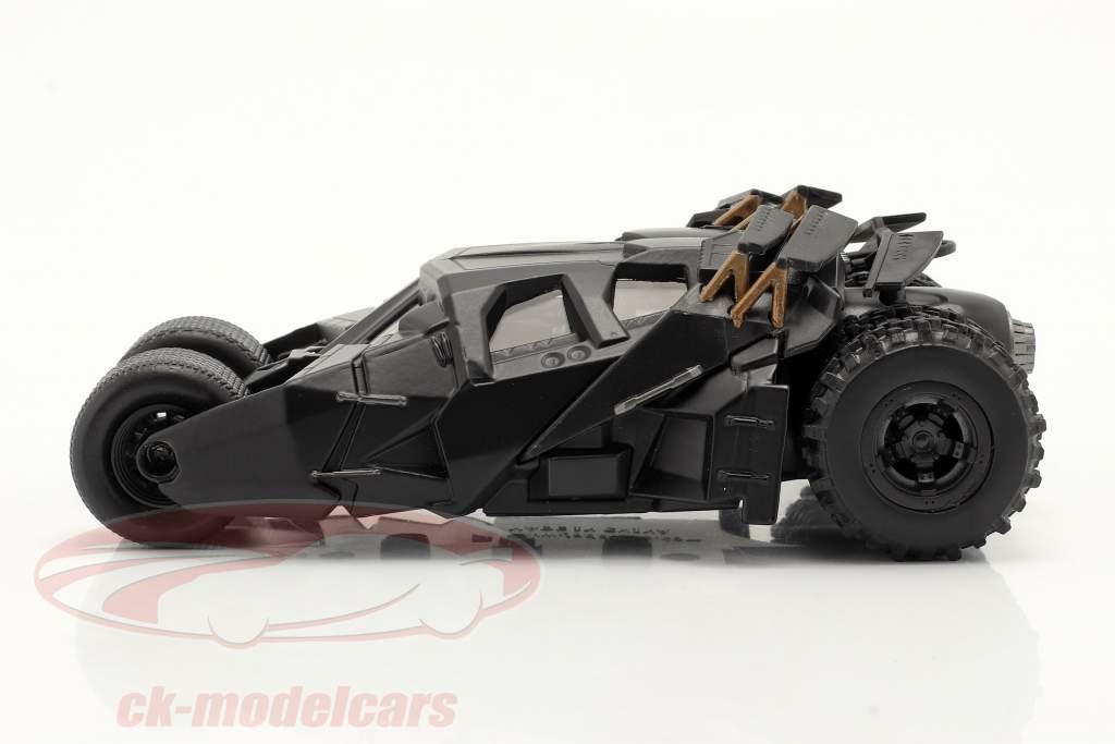 Tumbler Batmobiel Film The Dark Knight (2008) zwart 1:43 Jada Toys