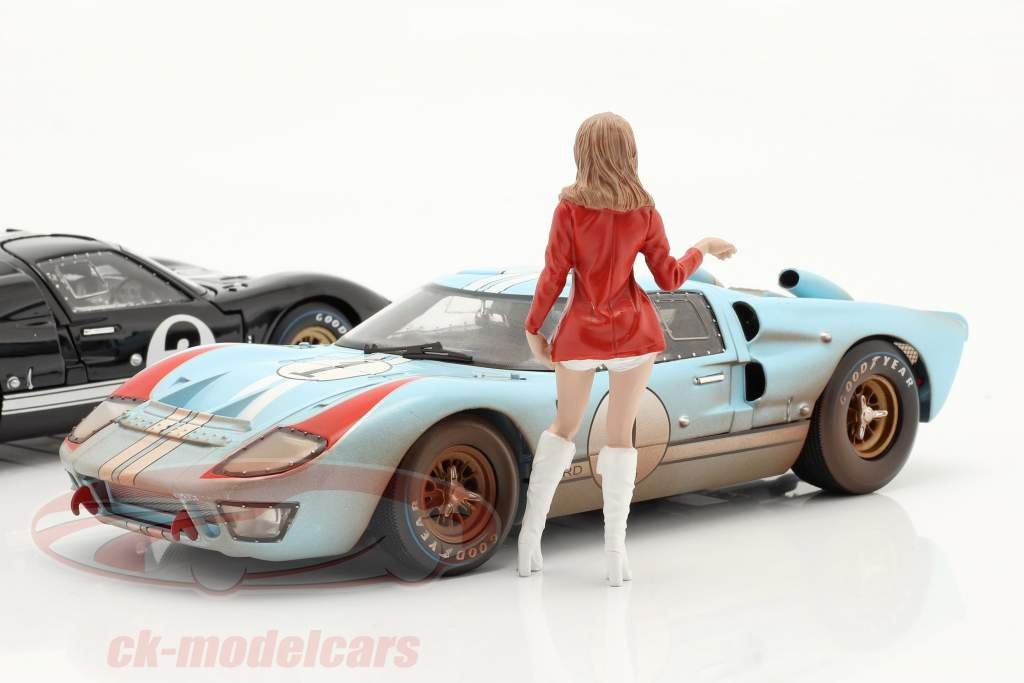 Race Day serie 2  figuur #5  1:18 American Diorama