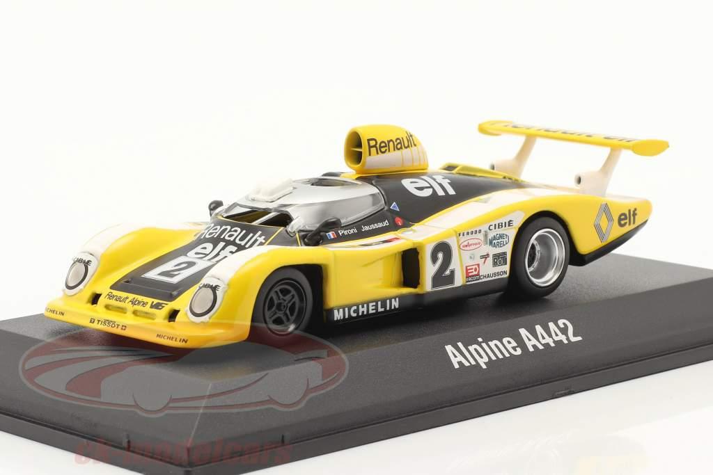 Renault Alpine A442B #2 vincitore 24h LeMans 1978 Pironi, Jaussaud 1:43 Norev