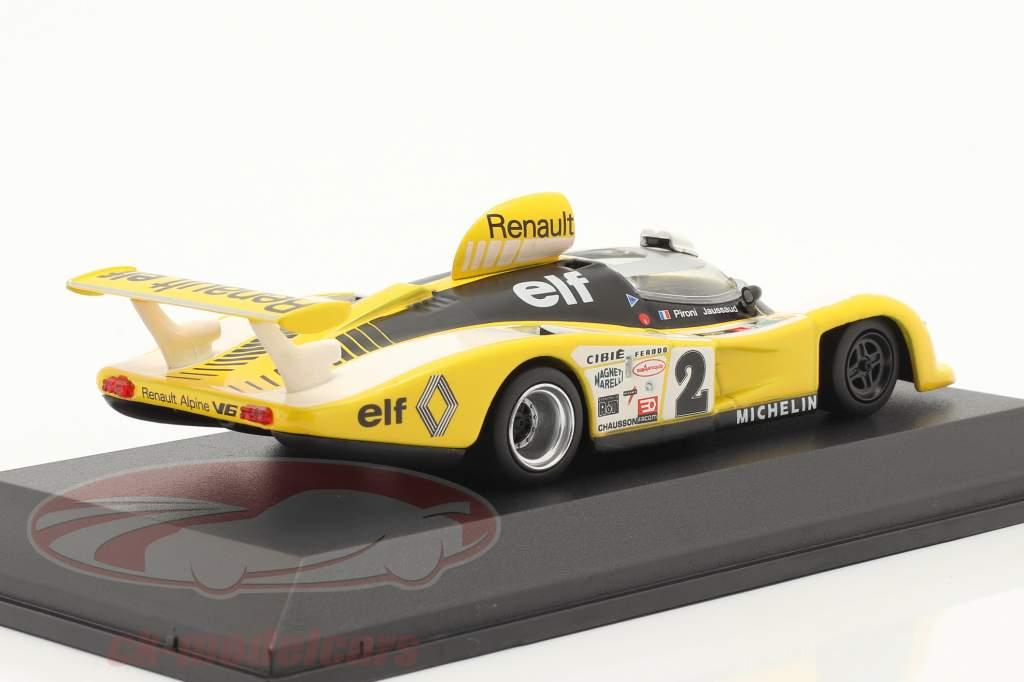 Renault Alpine A442B #2 vinder 24h LeMans 1978 Pironi, Jaussaud 1:43 Norev