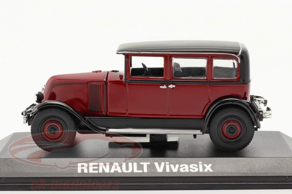 Renault Vivasix Type PG2 Baujahr 1928 rot / schwarz 1:43 Norev