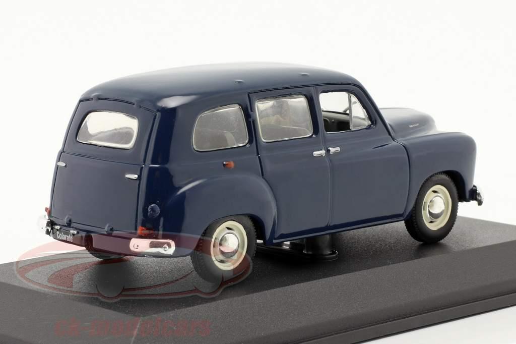 Renault Colorale Byggeår 1950-1957 mørkeblå 1:43 Norev