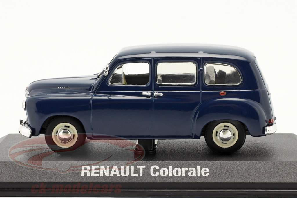 Renault Colorale Ano de construção 1950-1957 azul escuro 1:43 Norev