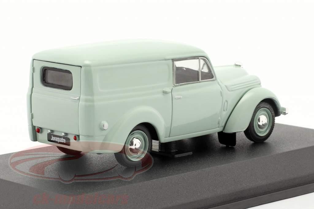 Renault Juvaquatre Ano de construção 1937 menta verde 1:43 Norev