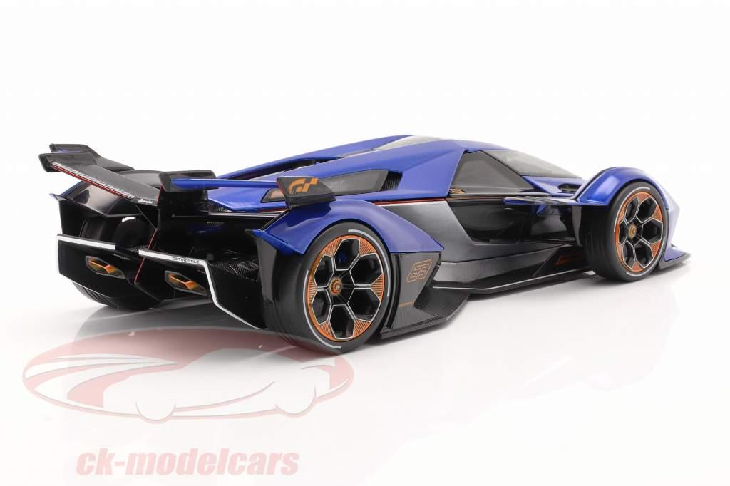 Lamborghini V12 Vision GT 2020 blue / black 1:18 Maisto